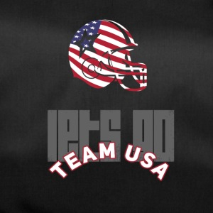 usa voetbal touch down vlag Amerika Sports defenes - Sporttas