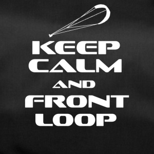 KITESURFING - KEEP CALM AND FRONT LOOP - Sporttasche