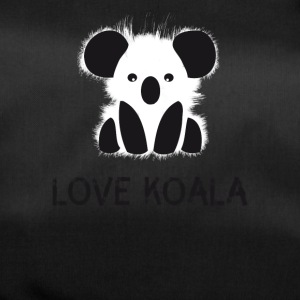 Koala animal cute bear fur cuddly australia l - Duffel Bag