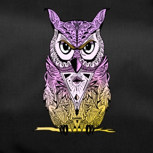 Owl mandala yoga illuminati eyes night see lol - Duffel Bag