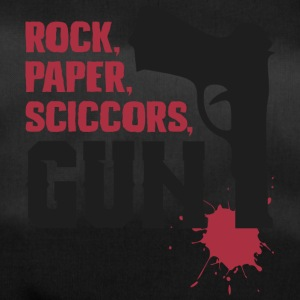 Amazing rock paper scissors gun - Duffel Bag