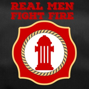 Fire Department: Real Men Fight Fire - Duffel Bag