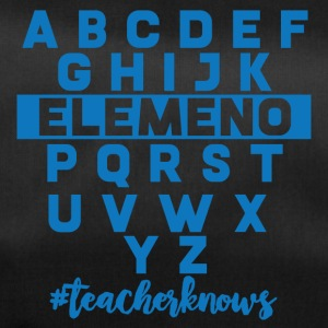 Teacher / School: ABCDEFG ... #teacherknows - Duffel Bag