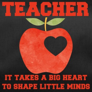 Teacher / School: Teacher - It Takes A Big Heart To - Duffel Bag