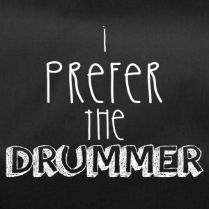 I prefer the drummer - Duffel Bag