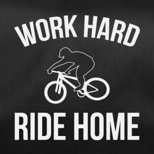 WERK HARD RIDE HOME - Sporttas