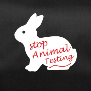 Stop Animal testing !! - Duffel Bag