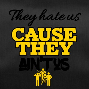 Theyhate us cause they is not us - Duffel Bag