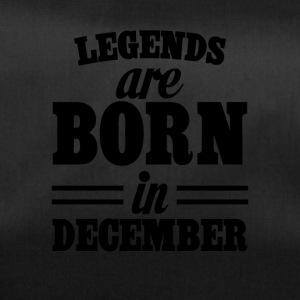 Legends zijn geboren in december - Sporttas