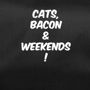 cats bacon weekends white - Sporttasche