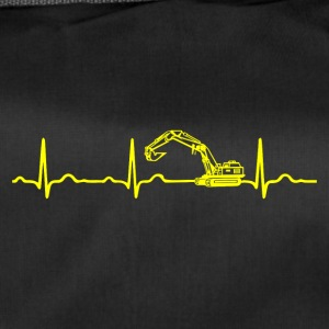 ECG HEARTBEATER Yellow - Duffel Bag