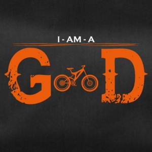I AM GOD legend mountainbike cycle - Duffel Bag