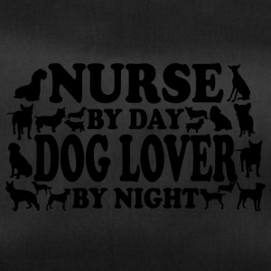 Nurse by day doglover by night - Duffel Bag