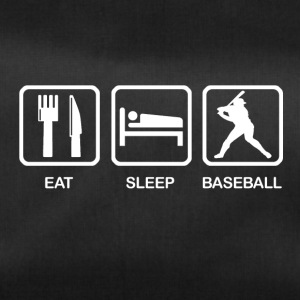 Eat Sleep Baseball - Sporttasche
