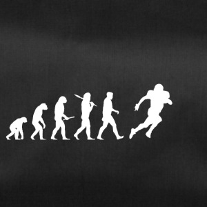 Evolution Voetbal! American Football! grappig! - Sporttas
