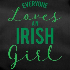 Ireland / St. Patrick's Day: Everyone Loves An Iris - Duffel Bag