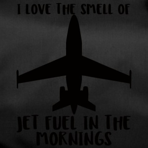 Pilot: I love the smell of fuel in the morning - Duffel Bag
