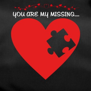 Missing puzzle part 1 white - Duffel Bag