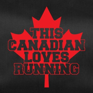 This canadian loves running - Duffel Bag