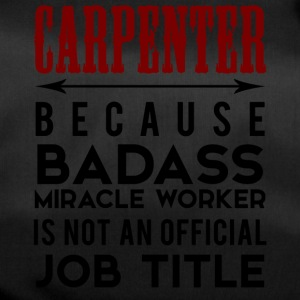 Carpenter: Carpenter, Parce que Badass Miracle - Sac de sport