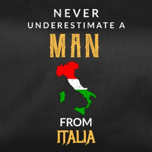 Never underestimate a Man from Italy! - Duffel Bag