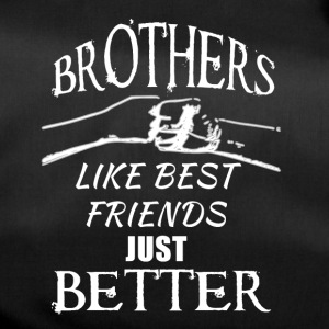 Brothers better than best friends - Sporttasche