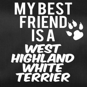 mijn vriend is een West Highland White Terrier - Sporttas