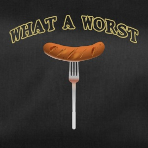What a worst What a sausage funny barbecue shirt - Duffel Bag