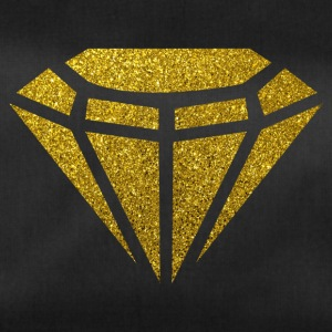 Golden Diamond - Golden Diamond Glitter Gold - Sportstaske