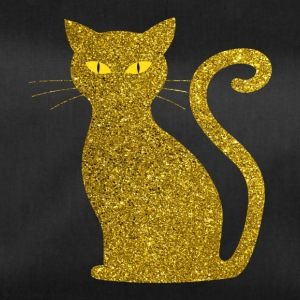 Chat d'or - Golden Cat Glitter Glitter or - Sac de sport