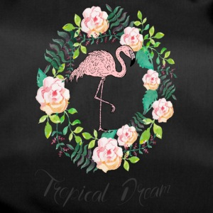 Flamingo - Tropical Dream - Blumenkranz - Duffel Bag