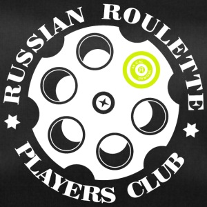 Russian Roulette Players Club logo 4 Black - Sportväska