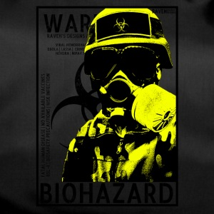 Yellow Biohazard gas BSL4 - Sporttas