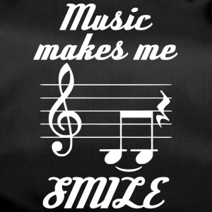 Musikk Make Me Smile - Sportsbag