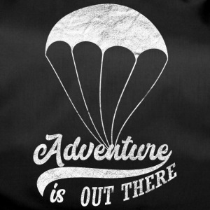 Adventure is out there - Sporttasche