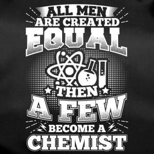 Funny Chemistry Chemist Shirt All Men Equal - Sporttasche