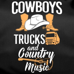 Cowboys Trucks And Country Music - Sporttasche