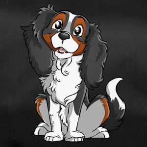 Cavalier King Charles - Black Tricolore - Duffel Bag