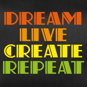 Dreamlive create repeat - Duffel Bag