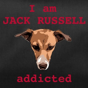 Jack russel addicted red - Duffel Bag