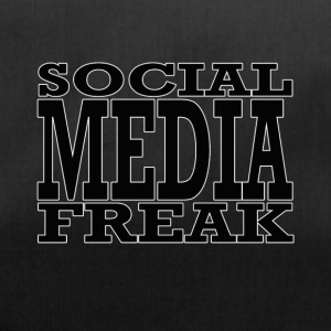 social media freak - Sporttas