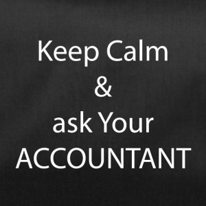Keep Calm and Ask your Accountant - Sporttasche