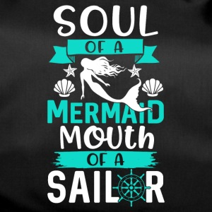 Soul of a Mermaid - Mouth of a Sailor - Duffel Bag