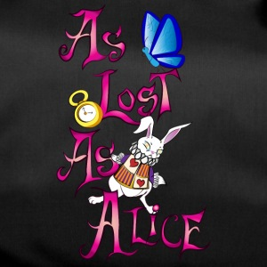 as lost as alice - Bolsa de deporte