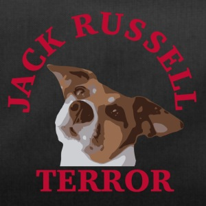 Jack Russell terror2 red - Duffel Bag