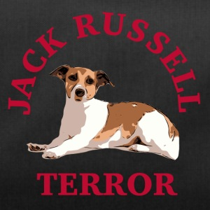 Jack Russell terror3 red - Duffel Bag