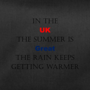 UK Weather Joke - Duffel Bag