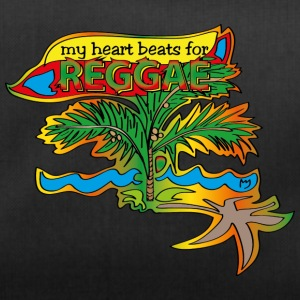 My heart beats for reggae - Duffel Bag