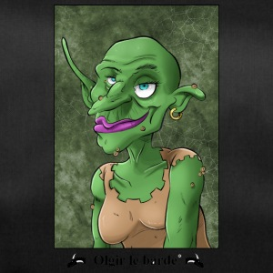 Goblin portrait - Duffel Bag