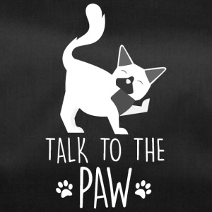 Talk to the paw - cat - Duffel Bag